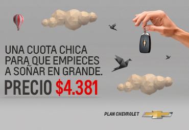 Plan Chevrolet Cuota Baja