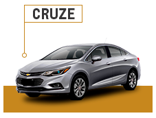 Accesorios Chevrolet Cruze