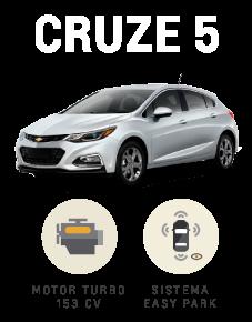 Beneficios que suenan bien Chevrolet Cruze 5