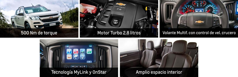 Interior de Chevrolet S10