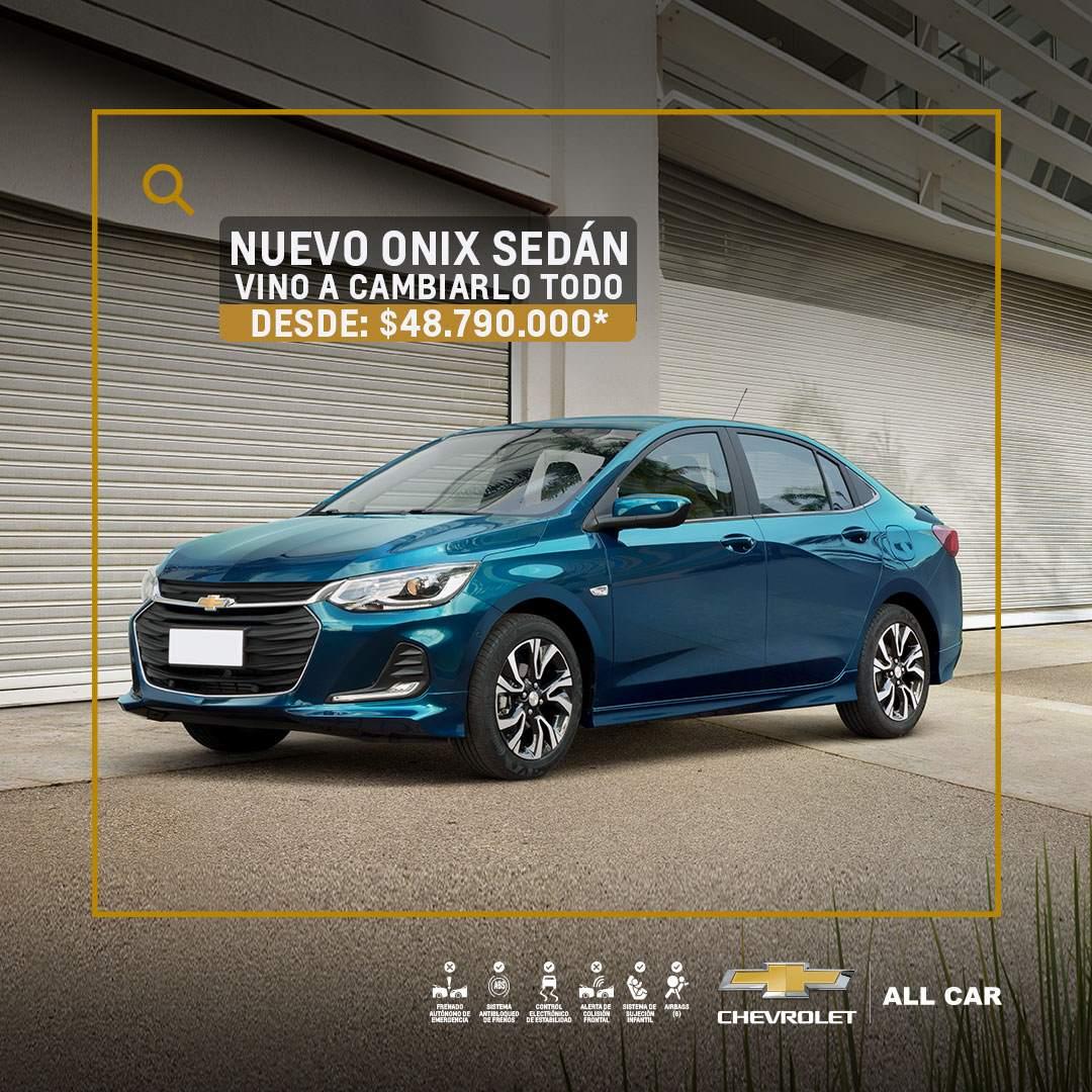 Chevrolet All Car - Nuevo Onix Sedán Turbo