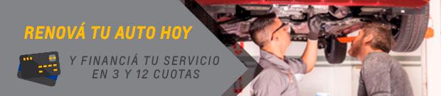 Servicios Postventa Chevrolet en cuotas sin interés