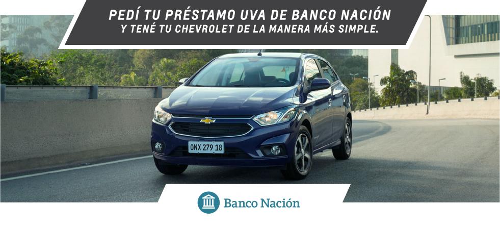 Banco Nación préstamo UVA - Chevrolet Gemsa