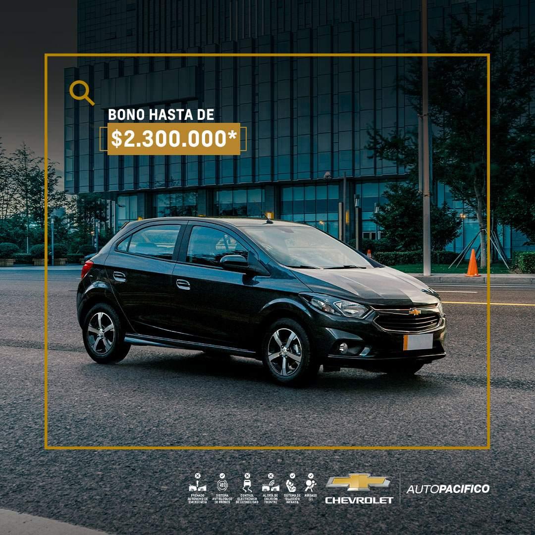 Autopacifico Chevrolet - Con Bono Descuento