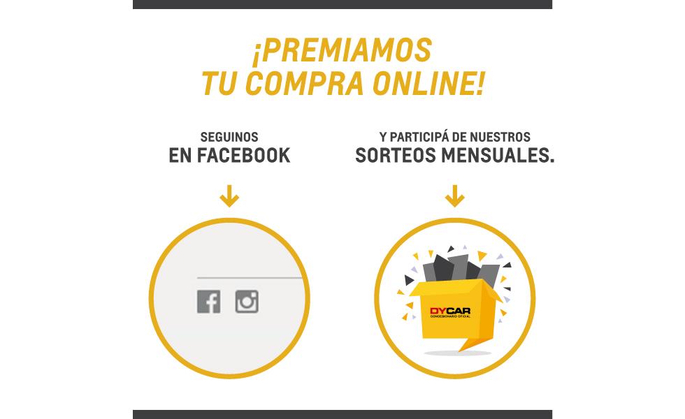 Sorteo Dycar Chevrolet en Facebook