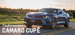 Conheça mais detalhes do modelo de carro novo Chevrolet Camaro Cupê 2017