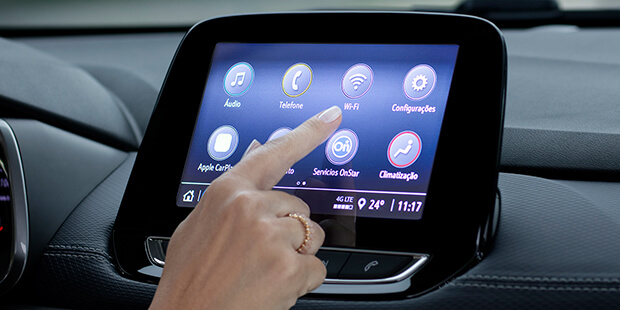 Novo Tracker 2021 SUV com Wi-Fi