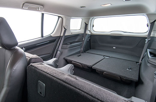 Trailblazer 2018 interior