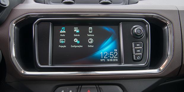 Chevrolet MyLink da nova minivan Spin 2019