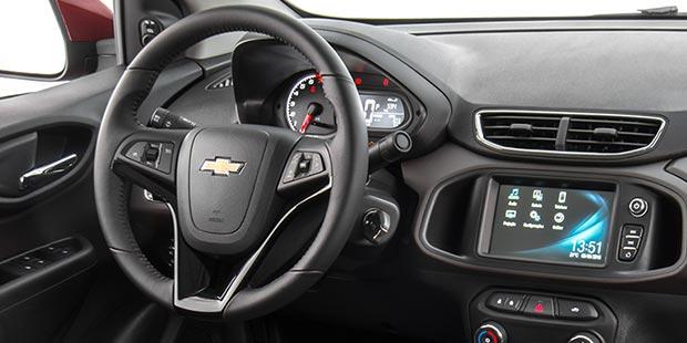 Tecnologia Novo Chevrolet Prisma 2019
