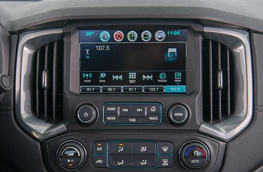 Tecnologia MyLink Nova Geração Chevrolet S10 High Country, Cabine Dupla e Simples