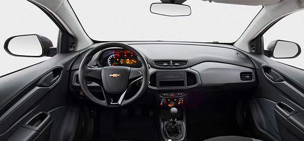 Design interno do novo Chevrolet Joy 2021
