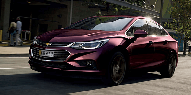 Motor 1.4 turbo do novo Chevrolet Cruze 2019