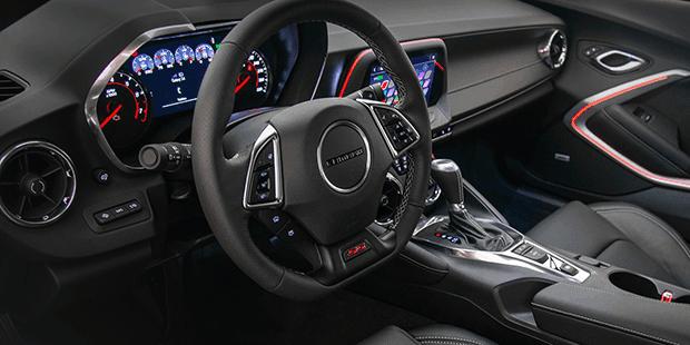 Tecnologia Camaro Conversível 2019