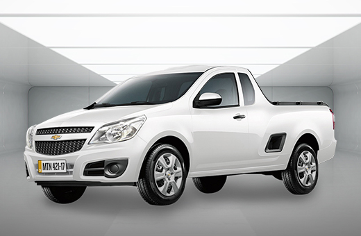 Cor da nova picape Chevrolet Montana Branco Summit 2017