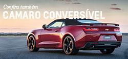 Conheça mais detalhes do modelo de carro novo Chevrolet Camaro Conversível 2017