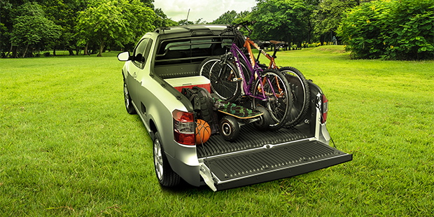 Caçamba carga lazer Chevrolet Montana caminhonete 2019