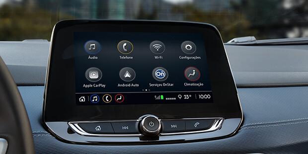 Chevrolet MyLink novo Tracker 2021