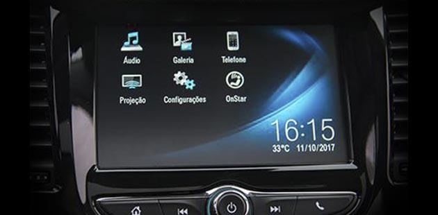 Conectividade no novo Chevrolet Trailblazer 2020