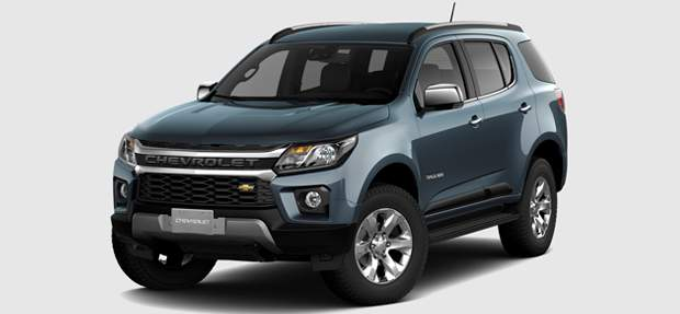 Design externo do novo SUV Chevrolet Trailblazer 2021
