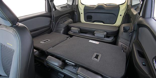 Interior porta malas estendido novo Chevrolet Spin Activ 2019