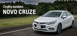 Conheça mais detalhes do modelo de carro novo Chevrolet Cruze