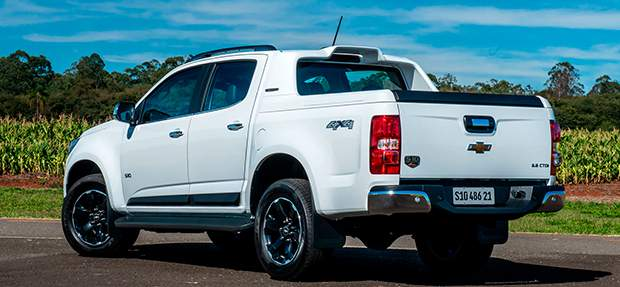 Design externo nova picape Chevrolet S10 High Country 2021