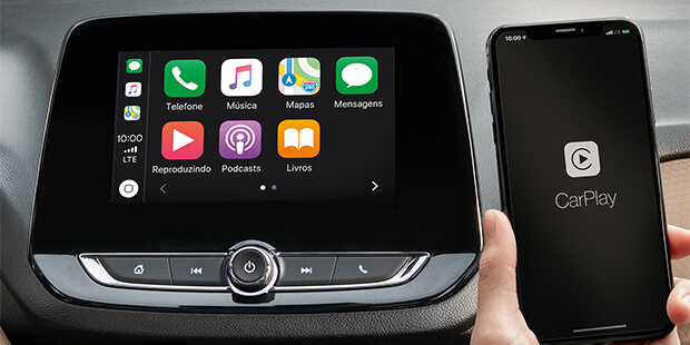 Onix Plus Premier 2020 com tecnologia Apple CarPlay