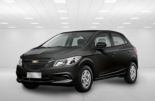 Cor do carro Chevrolet novo Onix Joy Preto Ouro Negro 2018