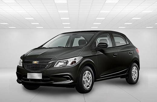 Cor do carro Chevrolet novo Onix Joy Preto Ouro Negro 2017