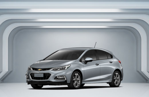 Cor do carro Chevrolet novo Cruze Sport6 Cinza Satin Steel 2017