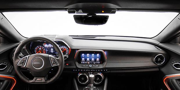 Interior do Novo Camaro Conversível SS 2019