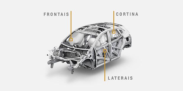 Novo Tracker 2021 com 6 airbags de série