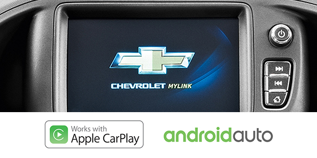 Apple CarPlay Android Auto Chevrolet Prisma 2018