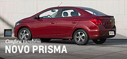 Conheça mais detalhes do modelo de carro novo Chevrolet Prisma 2019