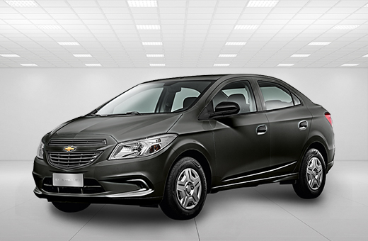 Cor do carro Chevrolet novo Prisma Joy Cinza Graphite 2017