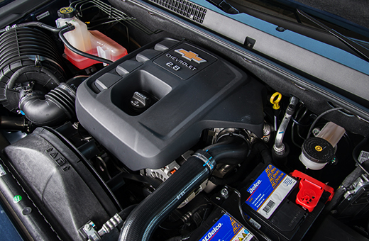 Motor 2.8 da picape Chevrolet S10 High Country