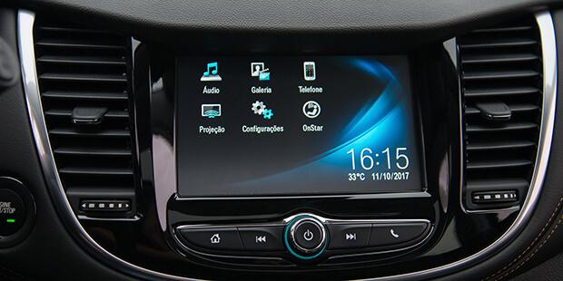 Sistema Chevrolet MyLink Tracker 2019