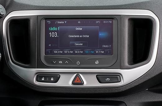 Spin Activ 2017 com Chevrolet MyLink