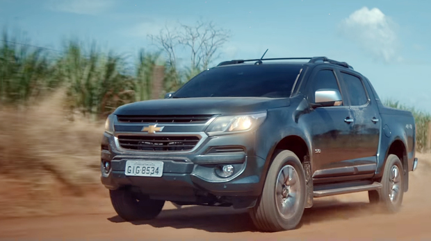 Exterior nova picape Chevrolet S10 High Country 2019