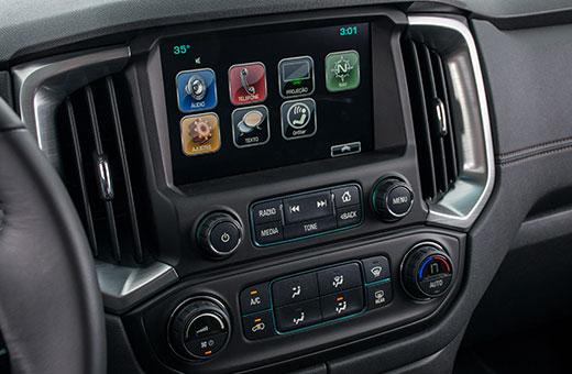 Trailblazer 2018 com tecnologia Chevrolet MyLink
