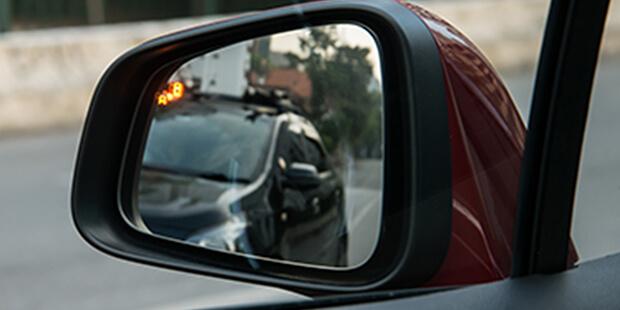 Retrovisor lateral alerta de ponto cego Chevrolet Tracker 2019