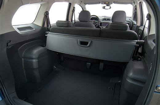 Porta-malas da Chevrolet Spin Activ 2017