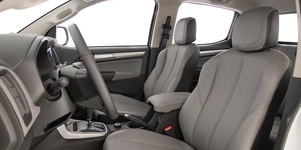 Bancos de couro da Chevrolet S10 Cabine Dupla 2019