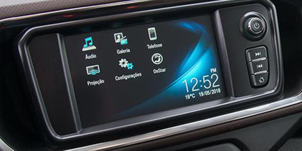 Mantenha-se conectado a bordo do Spin 2020 minivan de 7 lugares