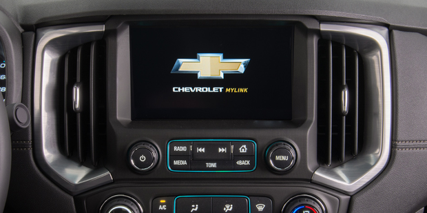 Computador de bordo MyLink da nova Chevrolet S10 High Country 2019