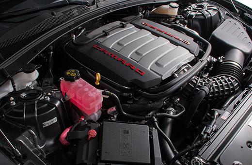 Motor V8 461cv do novo Chevrolet Camaro Fifty 2017
