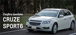Conheça mais detalhes do modelo de carro Chevrolet Cruze Sport6 2018