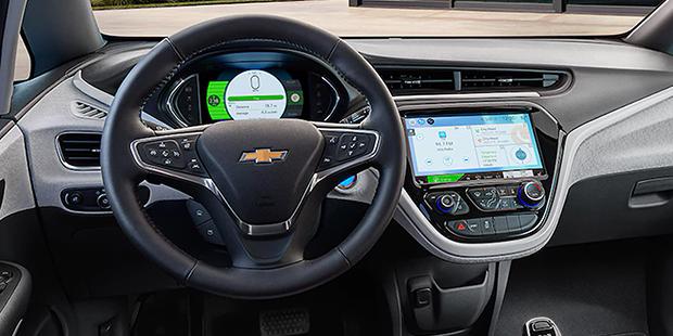 Confira o interior do novo carro elétrico Chevrolet Bolt EV 2019