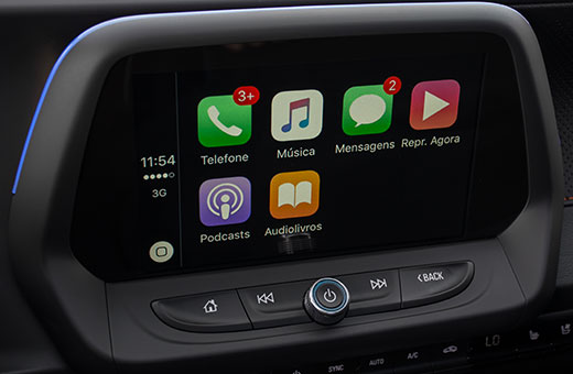Tecnologia Chevrolet MyLink novo Camaro Fifty 2017